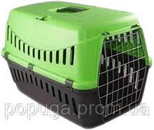 Переноска для собак и котов Gipsy 1  с металлической дверцей, (44*28,5*29,5 см)