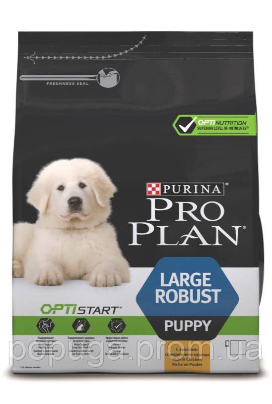 Корм PRO PLAN Large Puppy Robust OPTISTART для цуценят великих порід, 12 кг