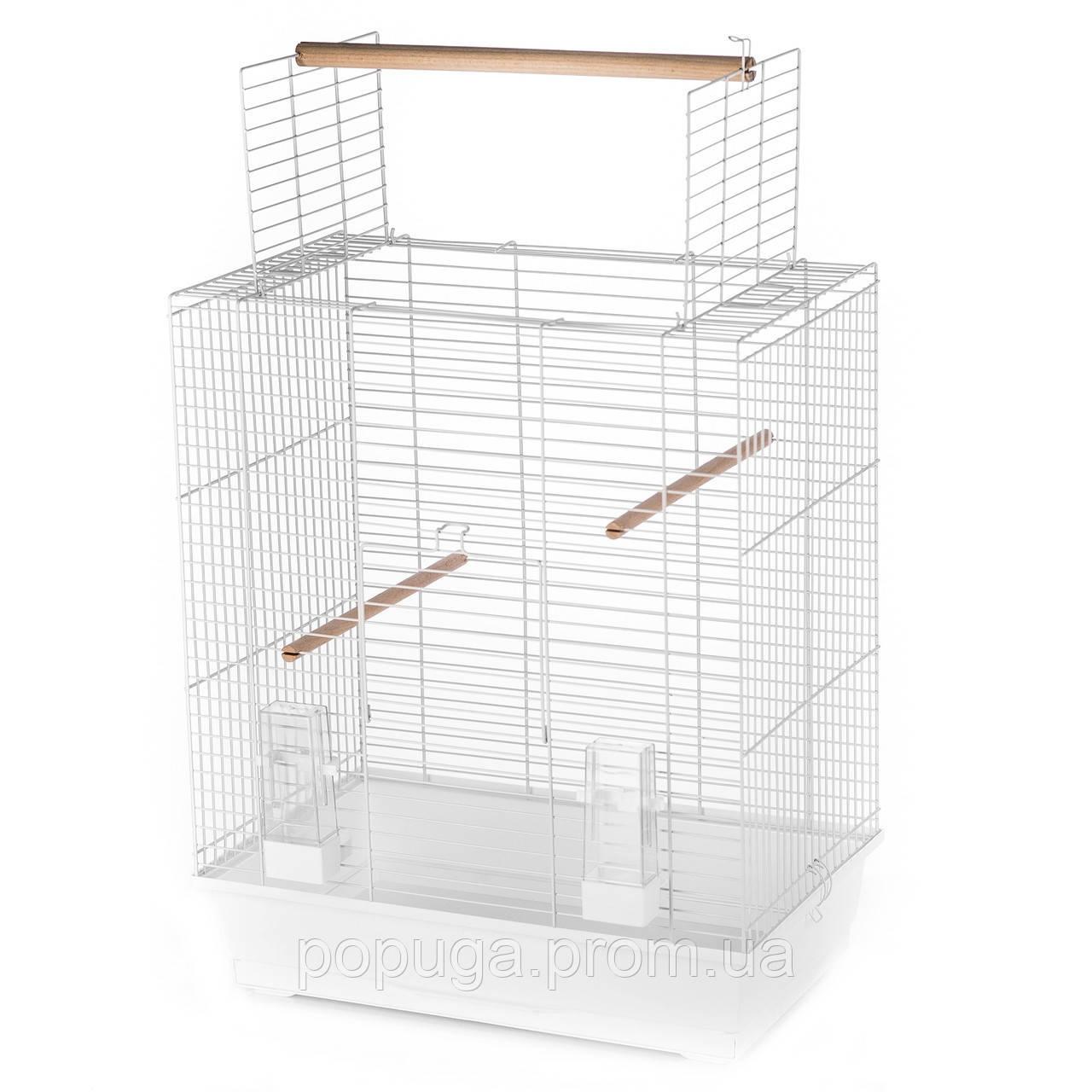 Клетка для средних попугаев Ara zinc, 54x34x68,5 см
