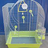 Клетка для птиц Elisabeth 2 zinc, 45*32*64 см, фото 2