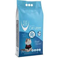 VanCat Fresh Комкующийся наполнитель для кошачьего туалета, 10 кг
