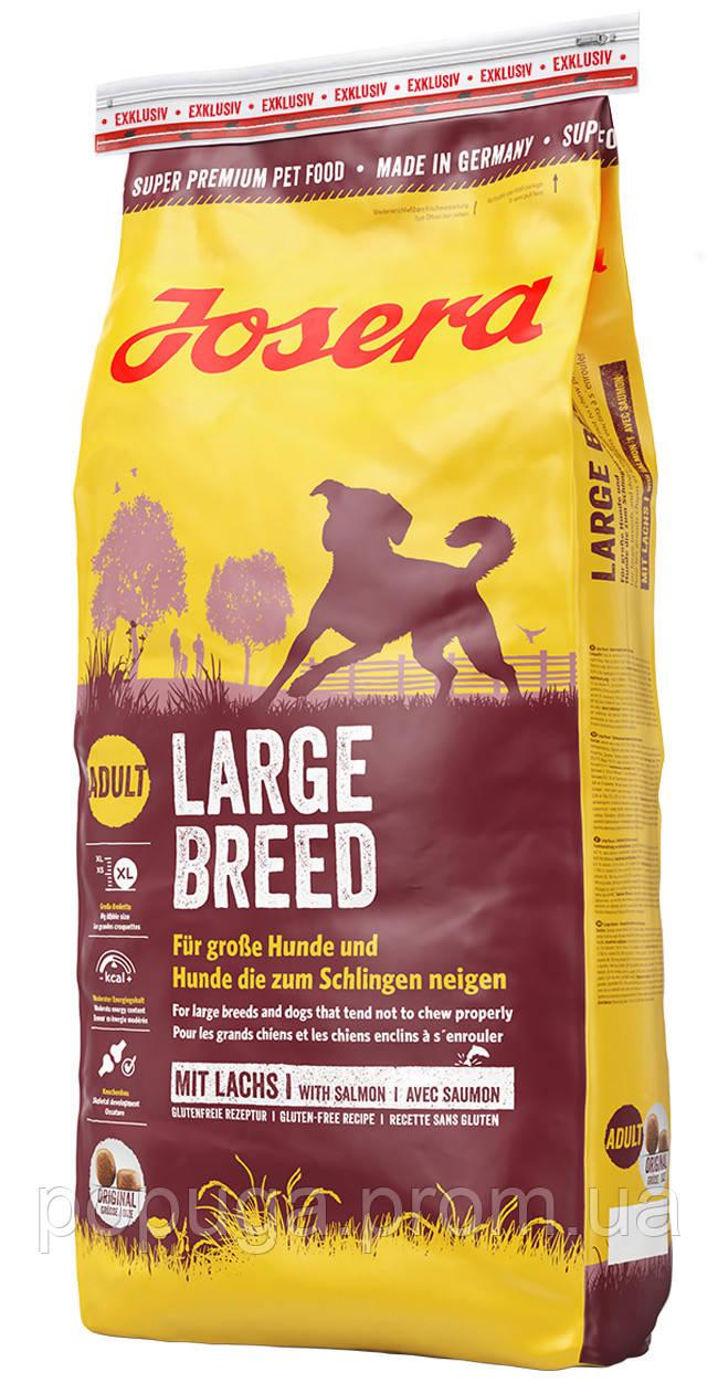 Корм Josera LARGE BREED сухой корм для собак крупных пород, 15 кг