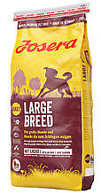 Корм Josera LARGE BREED сухой корм для собак крупных пород, 15 кг