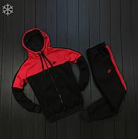 Спортивный костюм мужской зимний утепленный найк/Nike
