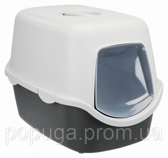 Закрытый туалет для кошек Trixie Vico 40×40×56 см