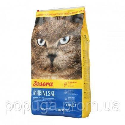 Корм Josera Marinesse гипоаллергенный с лососем для кошек, страдающих пищевой непереносимостью, 10 кг