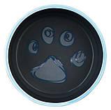 Керамическая миска для собак и щенков с резинкойTrixie Jimmy, 0,4л/12см, фото 2