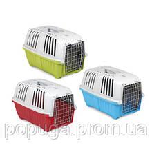 Переноска для собак и котов Pratico 2 с металлической дверью,  до 18 кг (55*36*38 см)