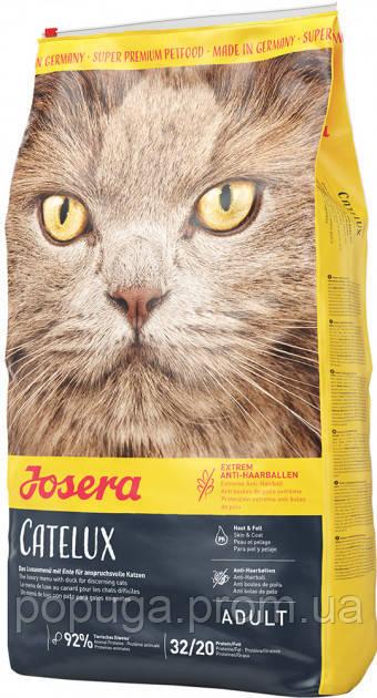 Корм Josera Catelux для длинношерстных котов, 4,25 кг