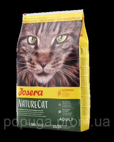 Корм Josera NatureCat беззерновой для взрослых котов, 2 кг