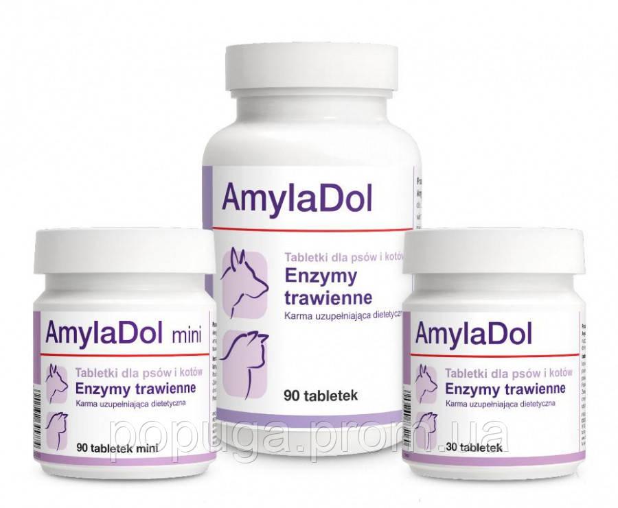 AmylaDol (Амиладол) МИНИ Витамины для собак и кошек при нарушении пищеварения, 90 мини табл.