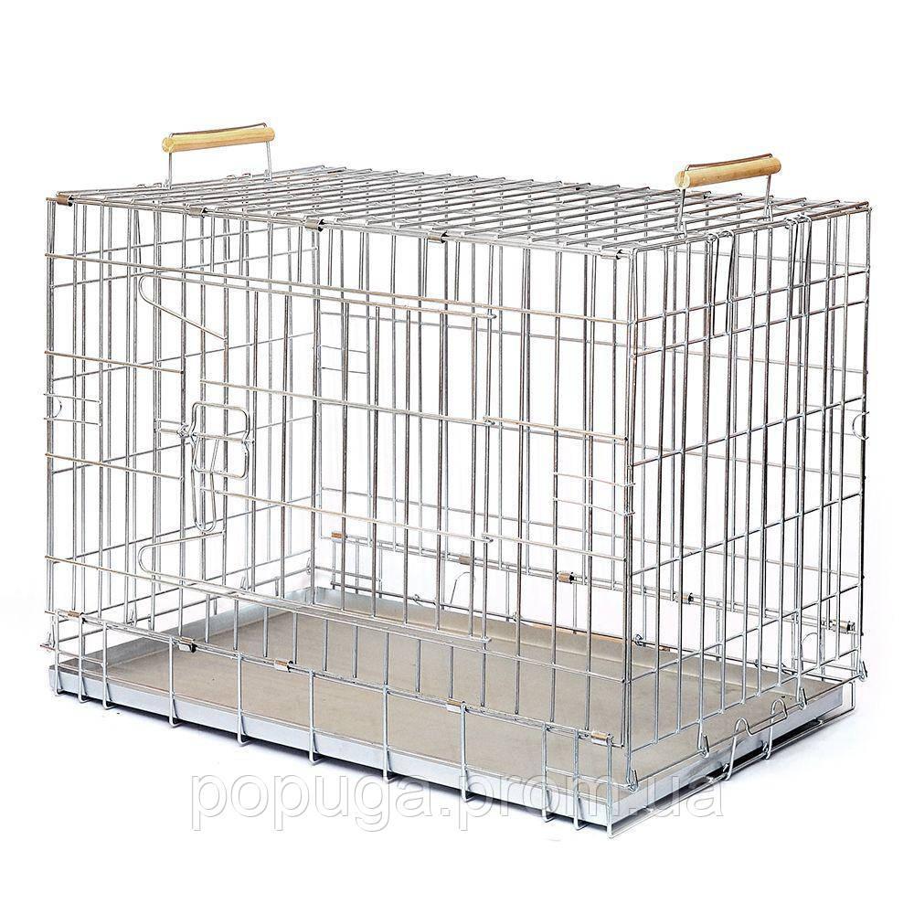 """Клітка для собак """"ВОВК"""", 54x75x48 см"""