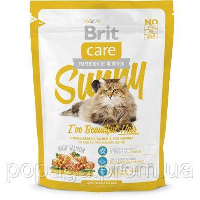 Корм гипоалергенный для длинношерстных кошек Brit Care,  400 г