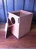 Гнездо для волнистых попугаев 17*18*21, фото 2