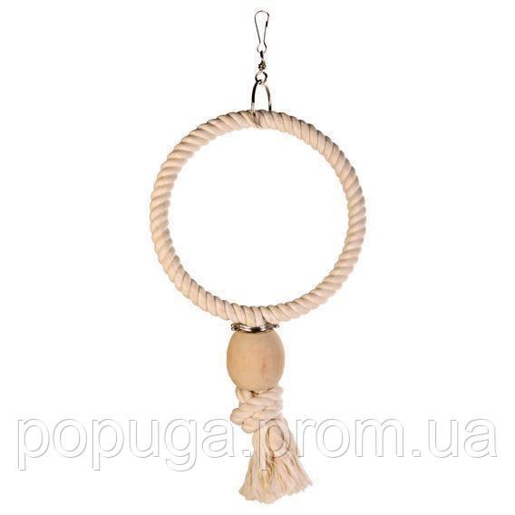 Кольцо верёвочное для крупных попугаев, ○24