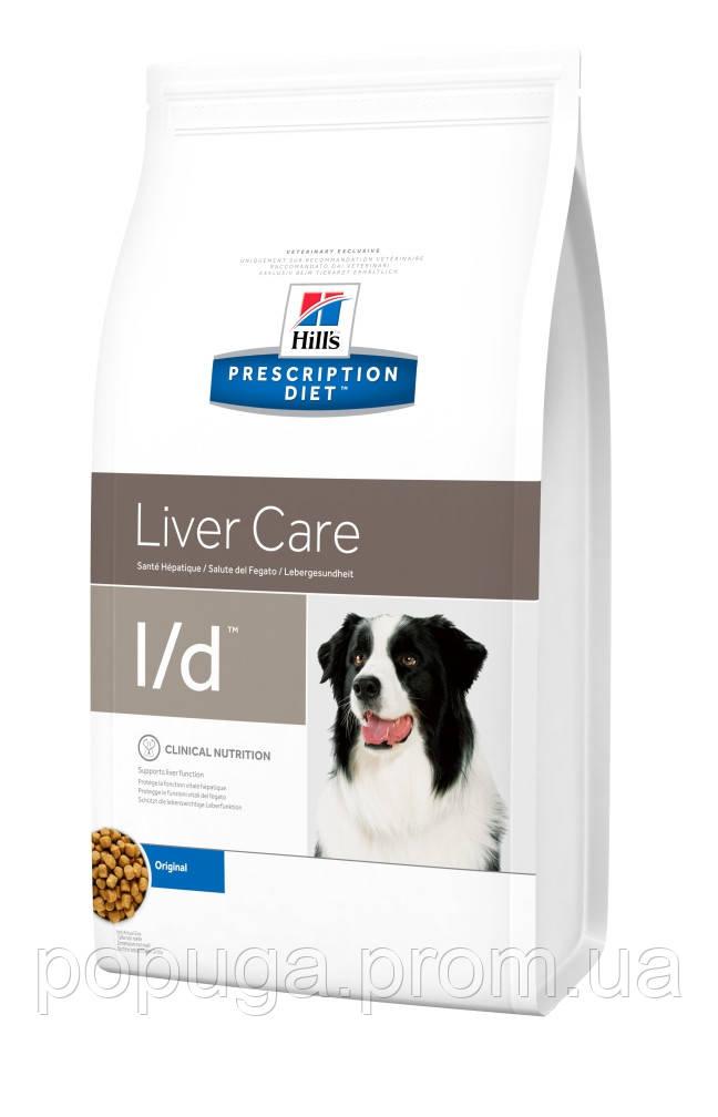Hill's PD Canine L/D корм для собак, 2 кг