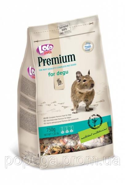 Корм для дегу LoLo Pets Premium for Degu