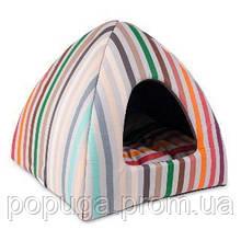 Дом - лежак для собак мелких пород «Каприз», 38*38*36 см