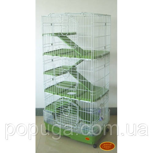 Клетка для фредок, кроликов, морских свинок, шиншилл F13B 68х46х132 см
