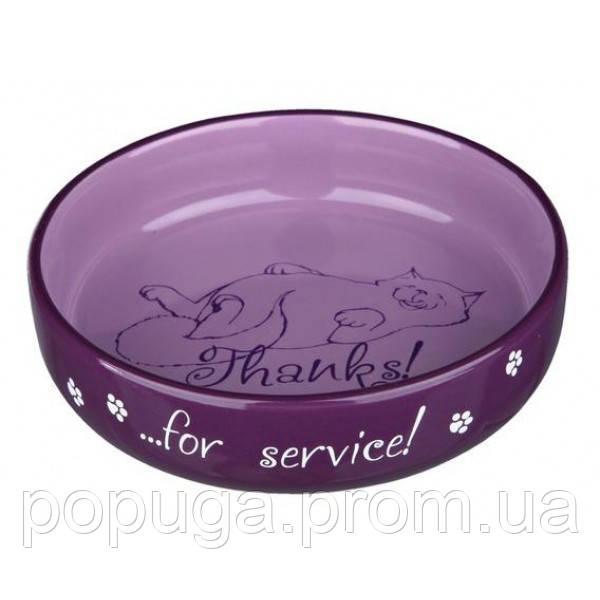 Миска керамическая для кошек Trixie, 0,3л