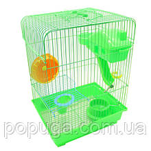 Клетка для грызунов эмаль, 30*22*40 см Золотая Клетка
