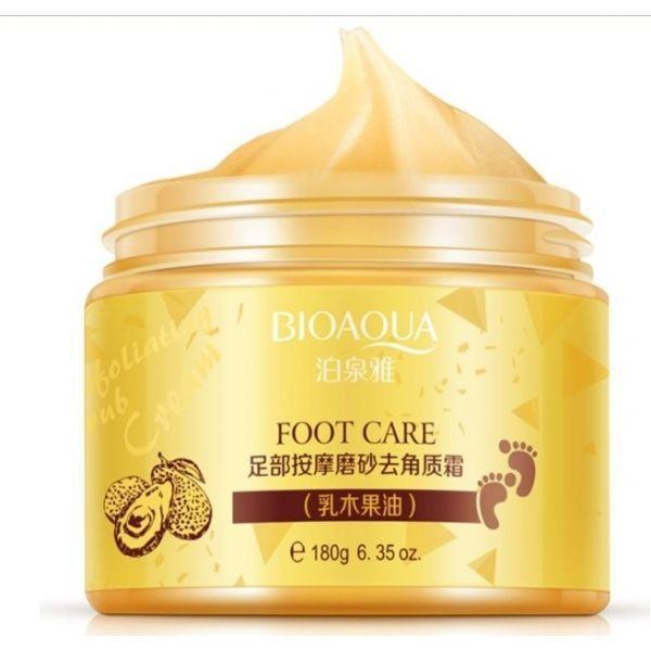 Скатка для ног BIOAQUA Foot Care на основе масла Ши и карите 180 грамм