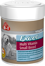 8in1 Excel Multi Vitamin Small Breed Эксель Мультивитамины для собак мелких пород, 70 таб