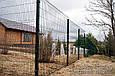Секция ограждения забора из Сварной сетки 1х2,5м (зеленая) Ø  прута 3 и 4мм, фото 6