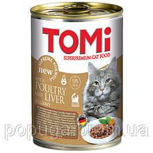 TOMi poultry liver ПТИЦА ПЕЧЕНЬ консервы для котов, 400 г