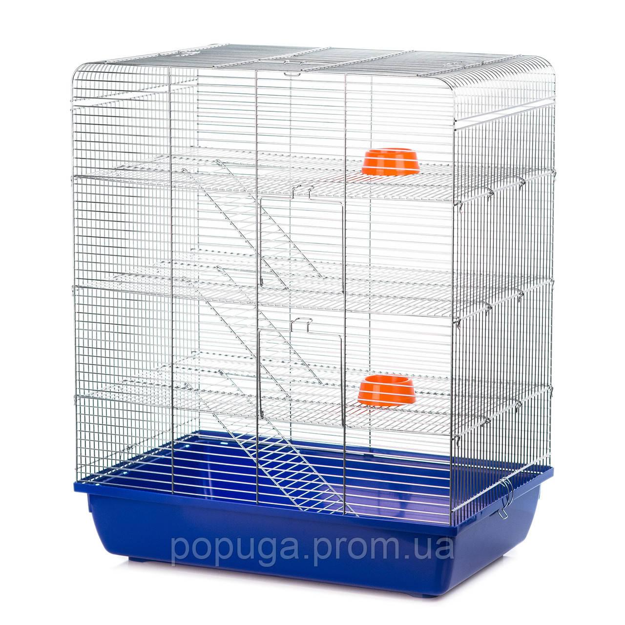 Клетка для грызунов, REMY ZINC InterZoo  58*38*71,5 см