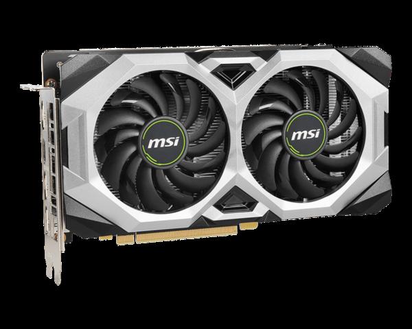 Видеокарта MSI GeForce RTX 2060 SUPER VENTUS GP OC 8GB (GeForce RTX 2060 SUPER VENTUS GP OC)
