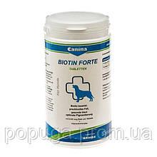 Витамины для собак Canina «Biotin Forte» 210 таблеток, 700 г (для кожи и шерсти)