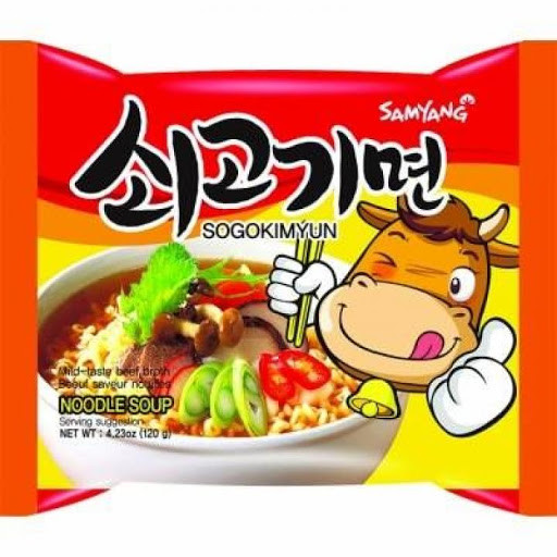 Лапша Samyang Noodle Soup Говодяна Согокимьюн 140 g