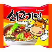 Локшина Samyang Noodle Soup Говодяна Согокимьюн 140 g