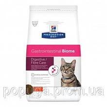 Hills Prescription Diet Canine Gastrointestinal Biome Лікувальний корм для кішок з куркою, 1,5 кг