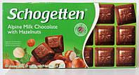 Шоколад Schogetten  Alpine Milk with Hazelnuts , 100г