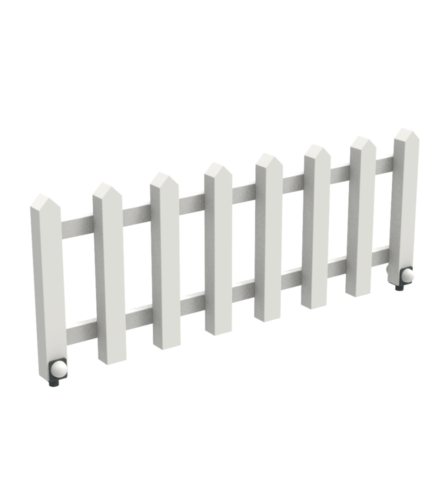 Забор White Garden 1 метр Kidigo (32119)