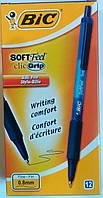 Ручка шариковая BIC софт клик грип синяя