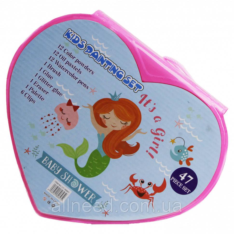 Набор для рисования MK 3918-3  (Baby Shower)