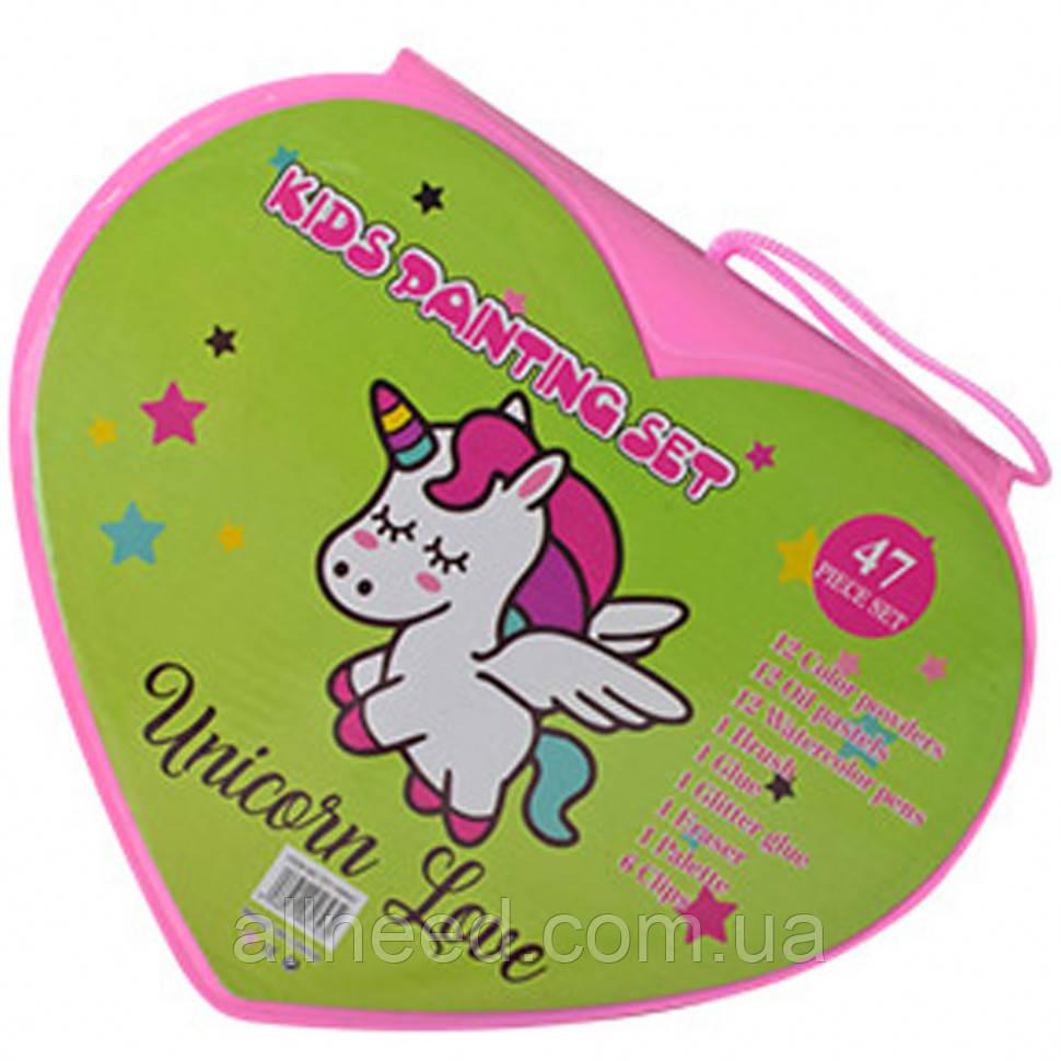 Набор для рисования MK 3918-3  (Unicorn Love)