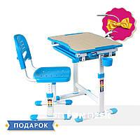 Дитяча парта зі стільцем FunDesk Piccolino Blue