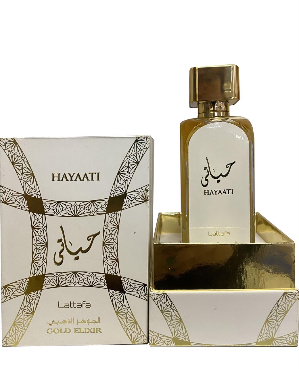 Парфюмированная вода для женщин Lattafa Hayaati Gold Elixir 100 мл