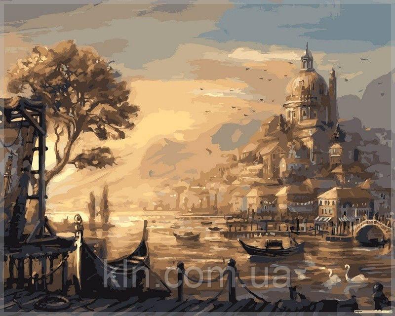 Картина по номерам Babylon VP051 Вечерняя Венеция 40 х 50 см