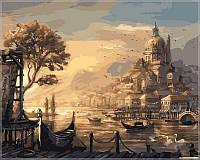 Картина по номерам Babylon VP051 Вечерняя Венеция 40 х 50 см, фото 1
