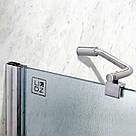 Штора на ванну Lidz Brama SS120x140.CRM.FR Frost, фото 3