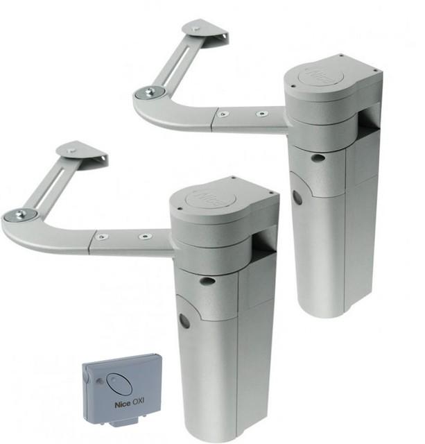 Комплект приводов для автоматизации распашных ворот Nice Walky 2024 KCE/О