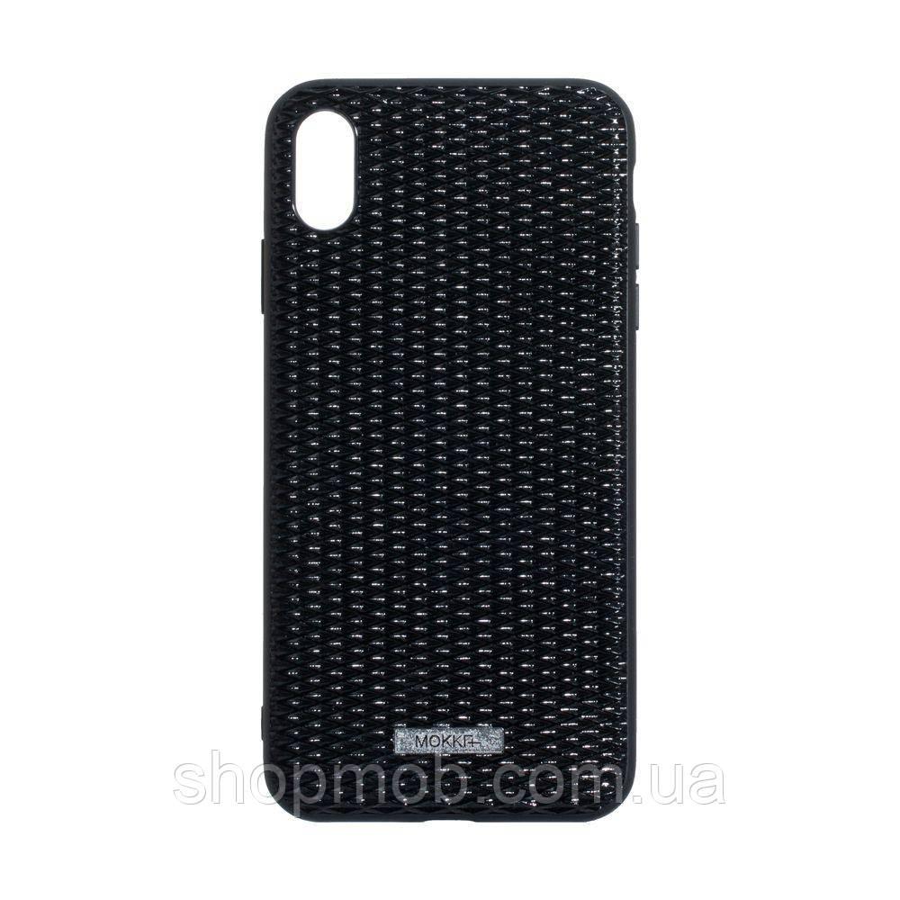 Чохол накладка для смартфонів Mokka for Apple Iphone Xs Max Колір Чорний