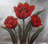 """Картина """"Красные тюльпаны"""""""