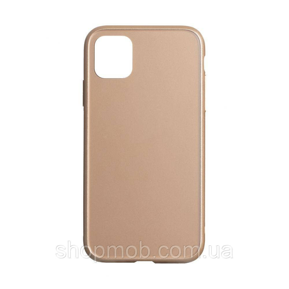 Чехол TPU Matt for Apple Iphone 11 Pro Цвет Золотой