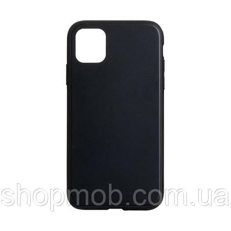 Чехол TPU Matt for Apple Iphone 11 Pro Цвет Чёрный, фото 2